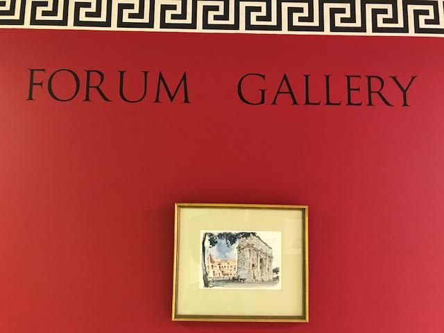 Forum Gallery Sign