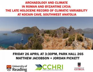 Pickett Lecture Archaeology and Climate in Roman and Byzantine Lycia