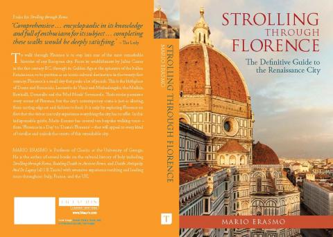 Strolling Through Florence Cover Mario Erasmo New Book