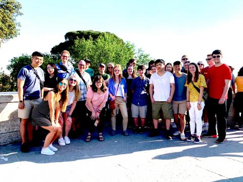 UGA in Rome students (24) summer 2019 Bianchelli Photo