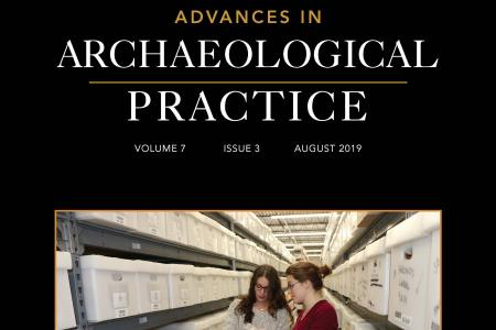 Nikki Vellidis Cover Advances in Archaeological Practice