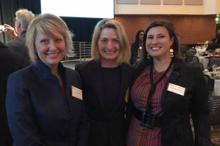 Dr. Wendy Biddle, Dr. Christine Albright, and Julia Claire Hernandez